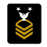 Us navy master chief photo album Mouse Pads
