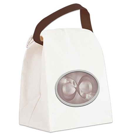 Infinite Love Canvas Lunch Bag