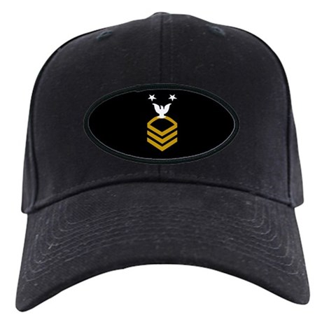 Master Chief Petty Officer<BR> Black Cap