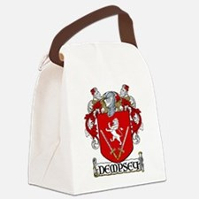 Dempsey Coat of Arms Canvas Lunch Bag