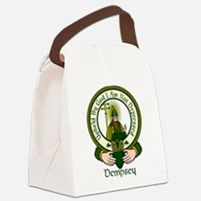 Dempsey Clan Motto Canvas Lunch Bag