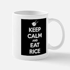 Keep Calm and Eat Rice. Mug