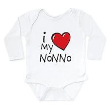 I Love My Nonno Long Sleeve Infant Bodysuit