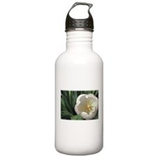 White Tulip Water Bottle