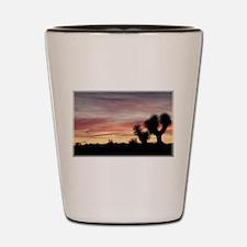 Joshua Tree Silhouette Shot Glass