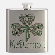 McDermott Shamrock Flask