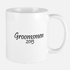 Groomsmen 2013 (Basic Black Design) Mug