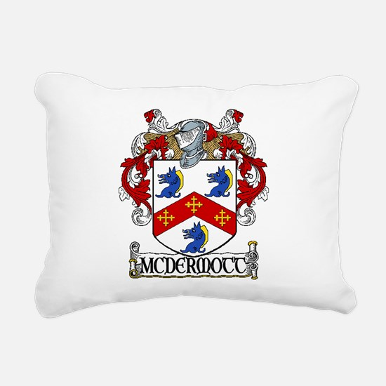 McDermott Coat of Arms Rectangular Canvas Pillow