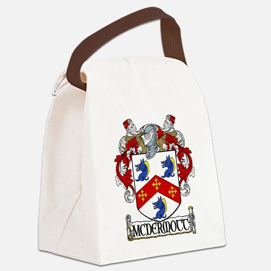McDermott Coat of Arms Canvas Lunch Bag