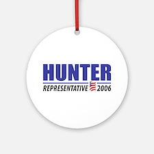 Hunter 2006 Ornament (Round)