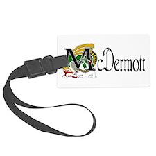 McDermott Celtic Dragon Luggage Tag