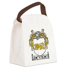 Devine Coat of Arms Canvas Lunch Bag