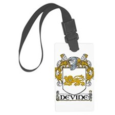 Devine Coat of Arms Luggage Tag