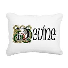 Devine Celtic Dragon Rectangular Canvas Pillow