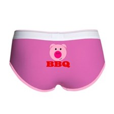 Pink Pig Red BBQ Women's Boy Brief