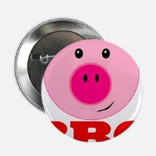 """Pink Pig Red BBQ 2.25"""" Button (10 pack)"""