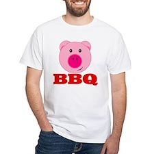 Pink Pig Red BBQ Shirt