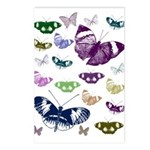 Butterflies Collage Postcards (Package of 8)