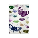 Butterflies Collage Rectangle Magnet