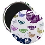 Butterflies Collage Magnet