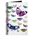 Butterflies Collage Journal