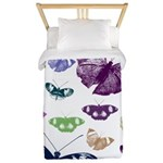Butterflies Collage Twin Duvet