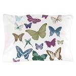 Butterflies Collage Pillow Case