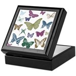 Butterflies Collage Keepsake Box