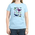 Butterflies Collage Women's Light T-Shirt