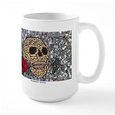 MosaicManNYC Skull & Rose Mug