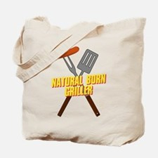 Natural Born Griller Tote Bag