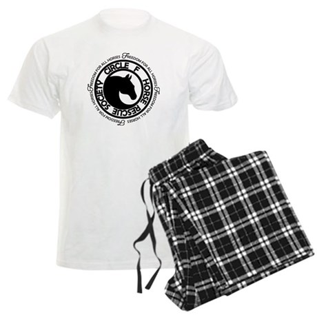 Circle F Horse Rescue Society Men's Light Pajamas