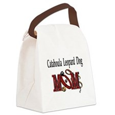 Catahoula Leopard Dog Canvas Lunch Bag