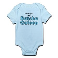 Grandpas Batcha Galoop Blue Infant Bodysuit