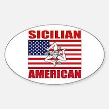Sicilian American Decal
