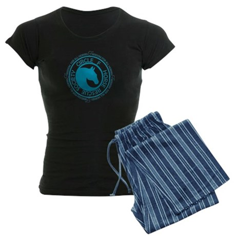 Circle F Horse Rescue Society Women's Dark Pajamas