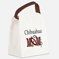Chihuahua Mom Canvas Lunch Bag