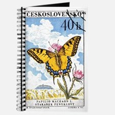 1961 Czech Swallowtail Butterfly Postage Stamp Jou