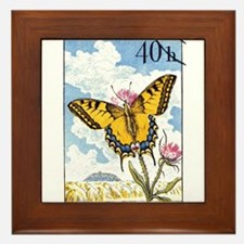 1961 Czech Swallowtail Butterfly Postage Stamp Fra