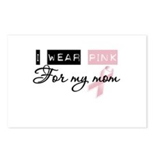 I Wear Pink For My Mom (BCA) Postcards (Package of