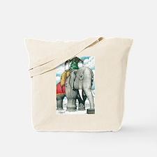 Lucy the Christmas Elephant, Margate NJ Tote Bag