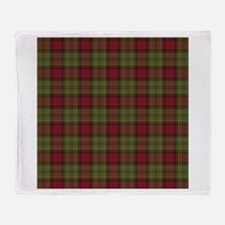 Red Green Tartan Throw Blanket