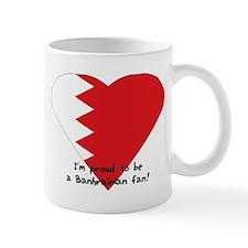 Bahrain fan flag Mug
