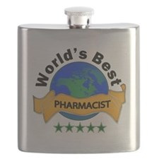 Cute Worlds greatest pharmacist Flask