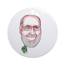 GoVeRnOr NeiL AbErCrOmBiE Ornament (Round)