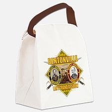 Bentonville (battle)1.png Canvas Lunch Bag