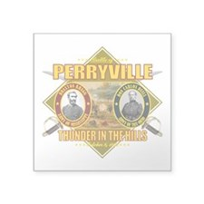 "Perryville (battle)1.png Square Sticker 3"" x 3"""