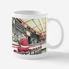 Santa at the Bound Brook Diner, Bound Brook NJ Mug