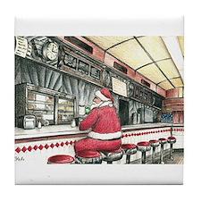 Santa at the Bound Brook Diner, Bound Brook NJ Til