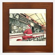 Santa at the Bound Brook Diner, Bound Brook NJ Fra